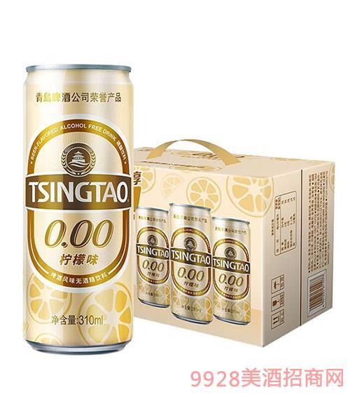 青�u啤酒0.00�o酒精�料310ml