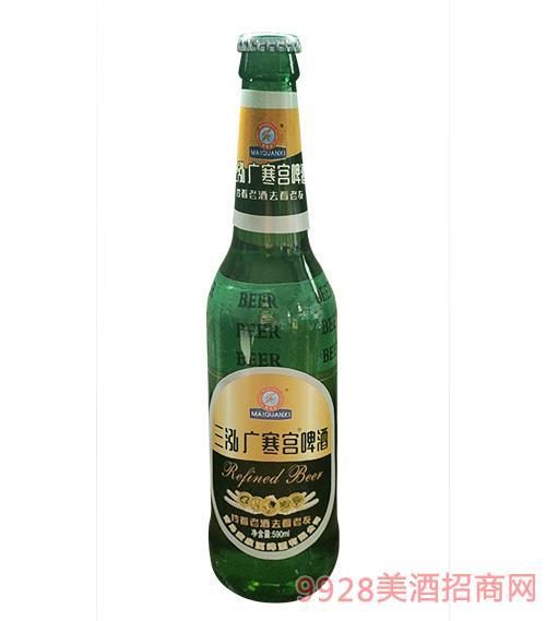 三泓广寒宫啤酒