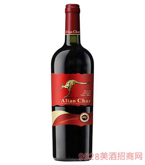 艾奢爾·黃尾袋鼠赤霞珠干紅葡萄酒14度750ml