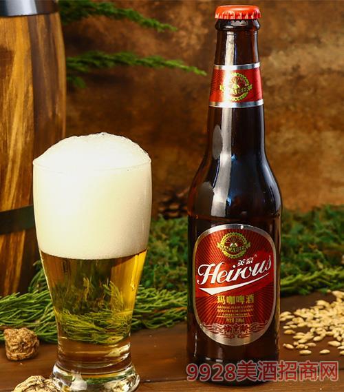 英豪��咖l啤酒瓶�b330mx24