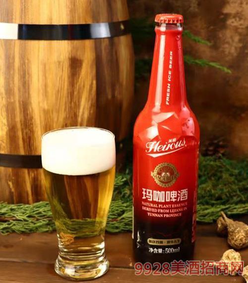 英豪玛咖啤酒包瓶500MLx12