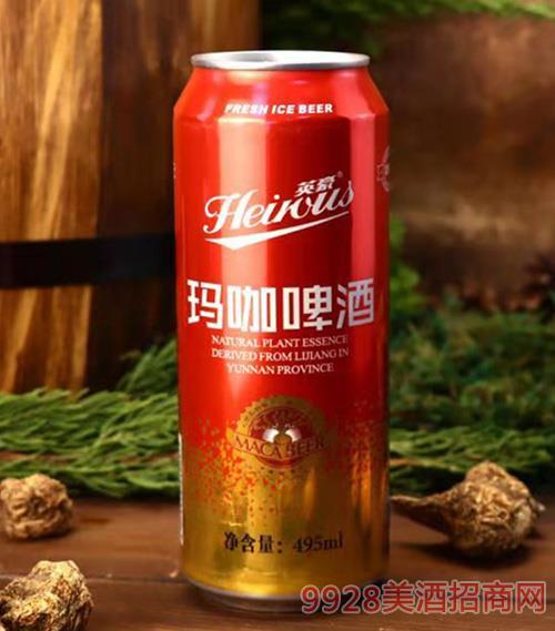 英豪玛咖啤酒罐装495MLx12