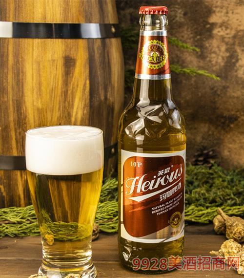 英豪瑪咖啤酒瓶裝500mlx12