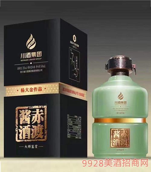 川酒集�F・赤渡�u酒-大���b�p 53度 500ml