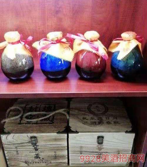 彩��窖藏酒