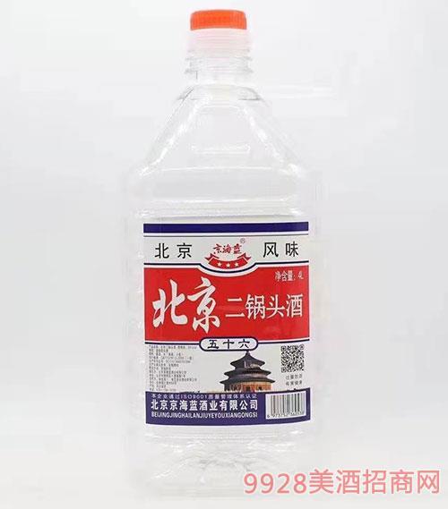 京海蓝北京二锅头酒56度4L