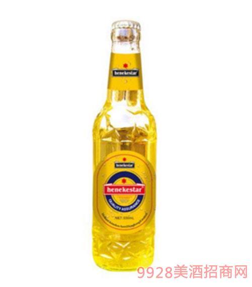 喜力之星原漿白啤瓶裝500ml