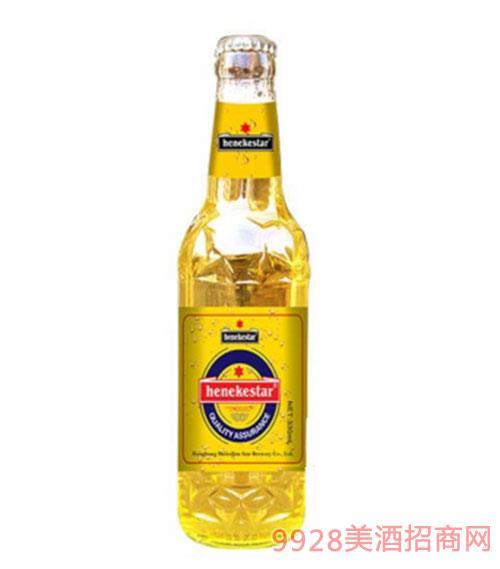 喜力之星原漿白啤瓶裝330ml