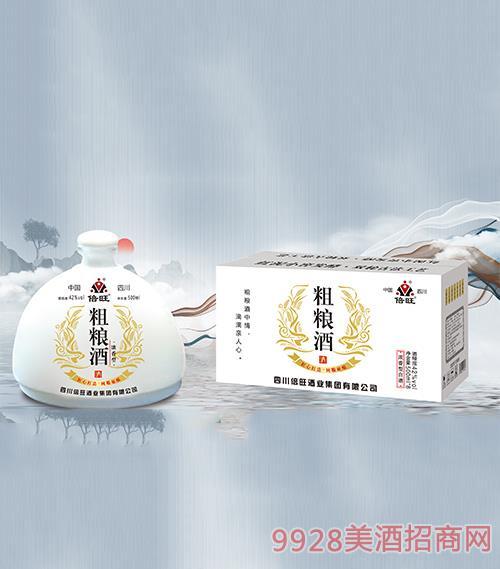 倍旺粗�Z酒(白)42度500ml