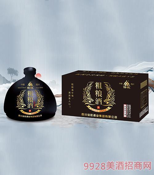 倍旺粗�Z酒(黑)52度500ml