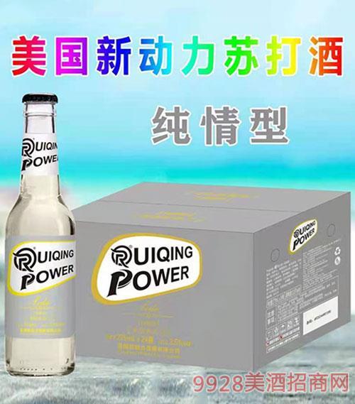 美国新动力苏打酒(纯情型)3.5度275ml