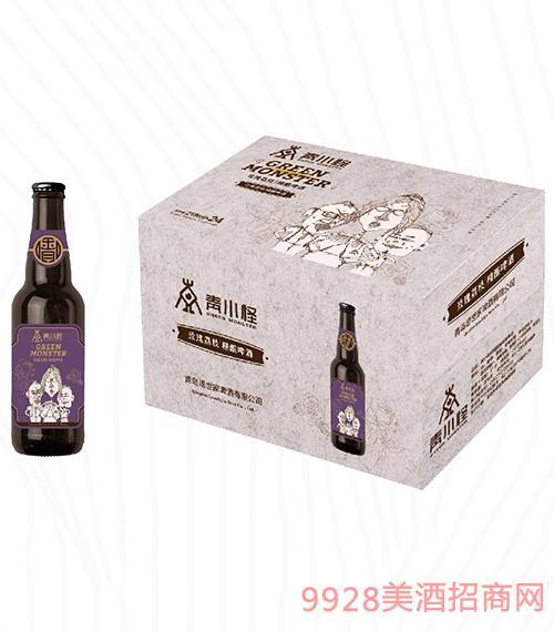 青小怪玫瑰荔枝精酿啤酒218ml