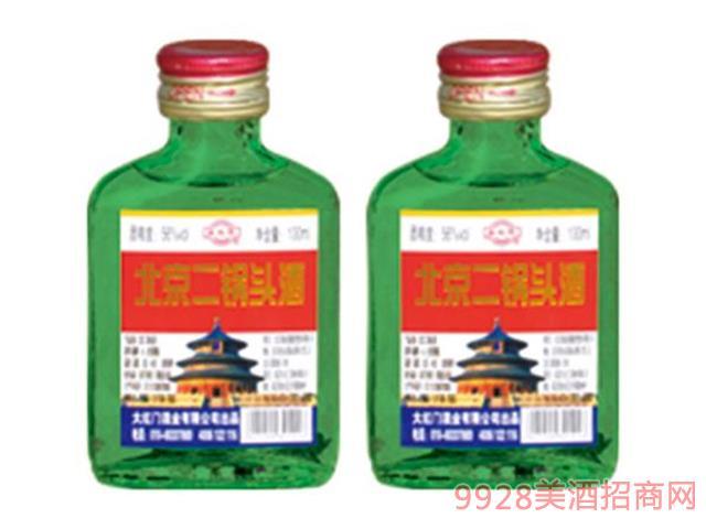 北京二锅头绿瓶52度100ml