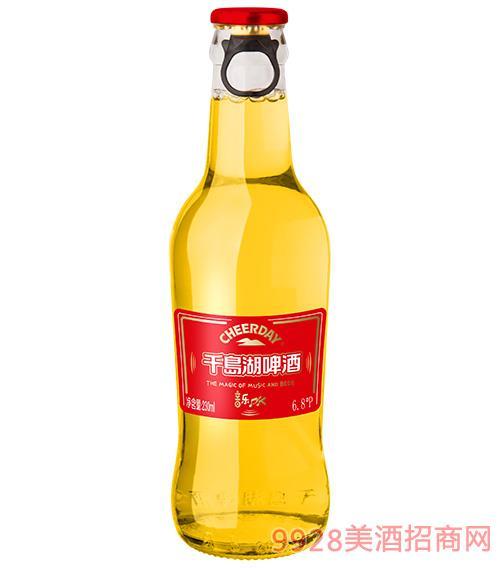 千島湖啤酒6.8度230ml音樂PK