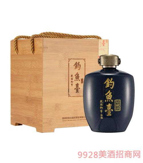 釣魚臺秘藏酒(壇裝)53度1L
