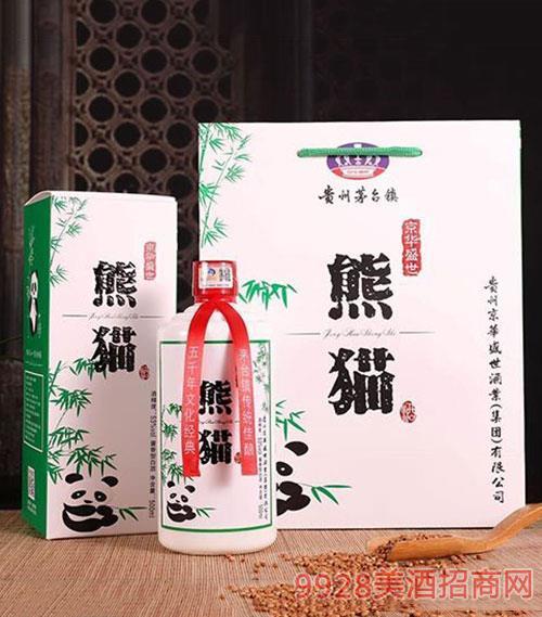 京华盛世熊猫酒