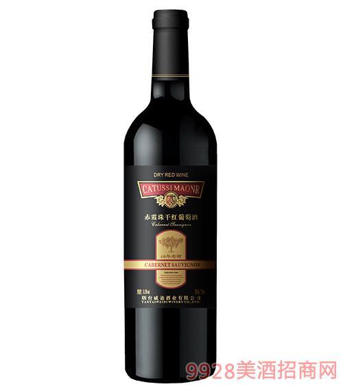 60年老�涑嘞贾楦杉t葡萄酒11.5度750ml