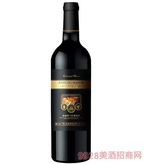 10年窖藏品��珠干�t葡萄酒12度750ml