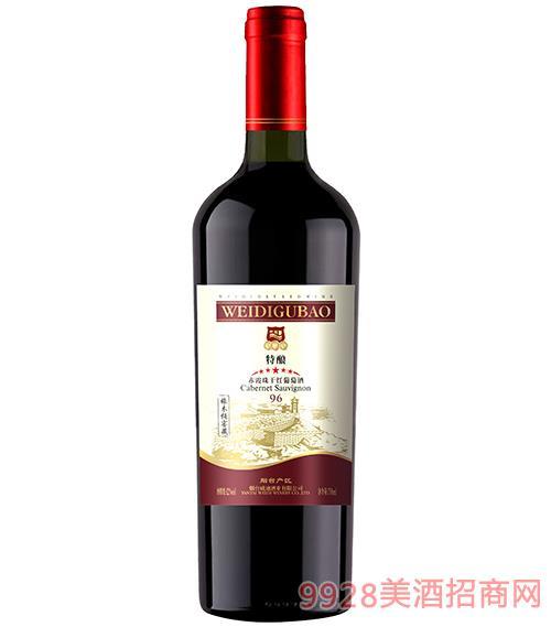 96赤霞珠特�干�t葡萄酒12度750ml