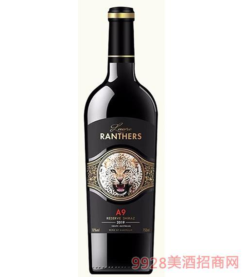 �_浮黑豹A9干�t葡萄酒15度750ml