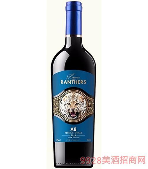 �_浮黑豹A8干�t葡萄酒15度750ml
