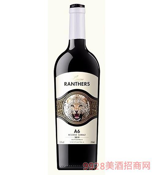 �_浮黑豹A6干�t葡萄酒15度750ml