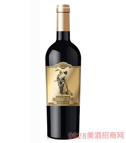 珍藏西拉干�t葡萄酒15.5度750ml