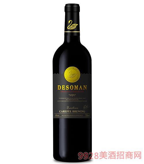 天�Z干�t葡萄酒14度750ml