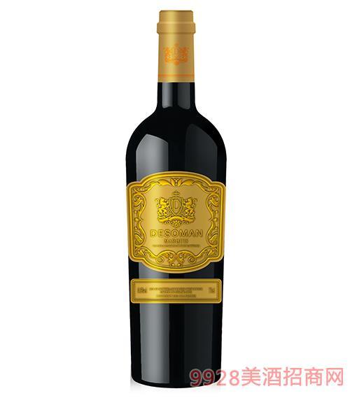 侯爵干�t葡萄酒14.5度750ml