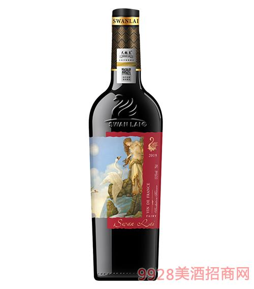 法��天�Z�R天仙干�t葡萄酒14度750ml