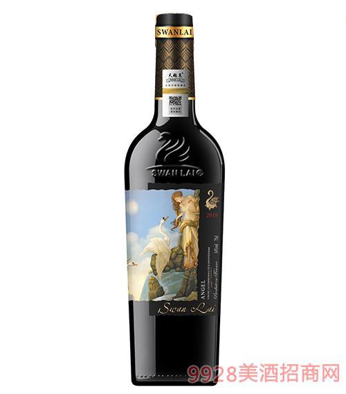 法��天�Z�R天使干�t葡萄酒14度750ml