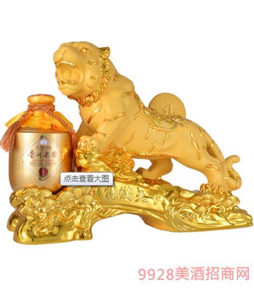 艺术礼品酒-福满天下(金色)