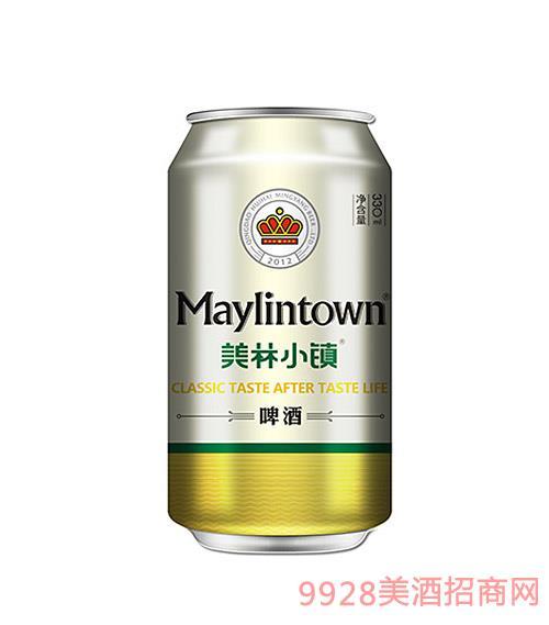美林小�啤酒金罐330ml