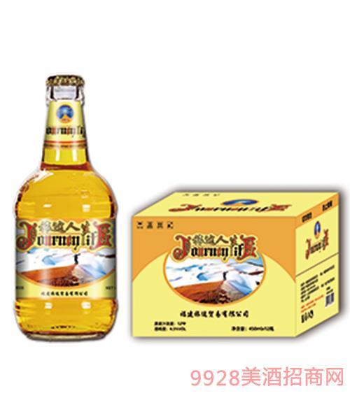 旅途人生精�啤酒450ml