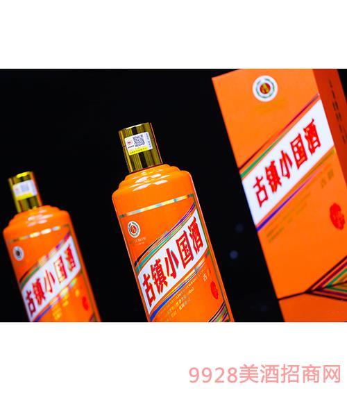 茅台镇古镇小国酒 酱香型【53度 500ml】