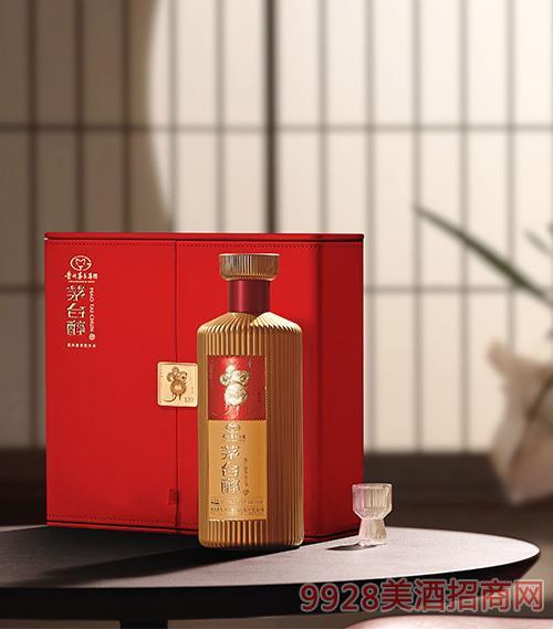 茅台醇邮票文化酒(子鼠开天)(红) 柔和酱香型【53° 500ml】