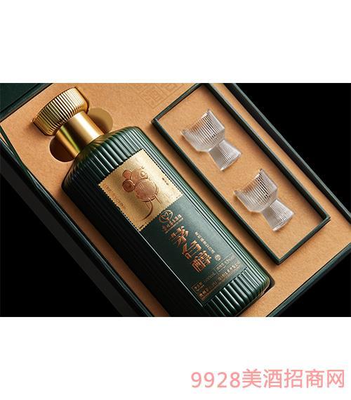 茅台醇邮票文化酒(子鼠开天)(绿色) 柔和酱香型【53° 500ml】