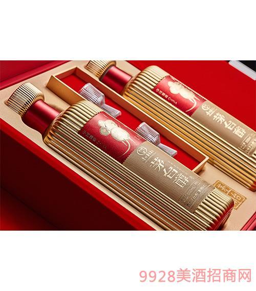 茅台醇邮票文化酒(子鼠开天)(红色)-柔和酱香型【53°-500ml】