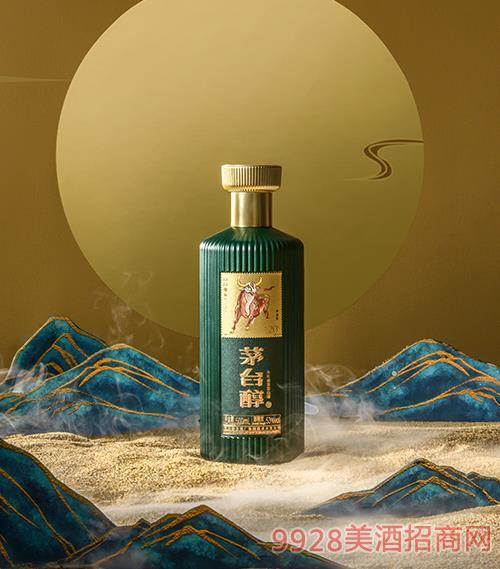 茅台醇邮票文化酒(牛金岁月)(绿色)-柔和酱香型【53度-500ml】