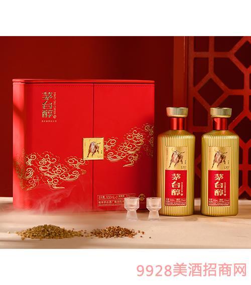 茅台醇邮票文化酒(牛金岁月)-柔和酱香型【53°-500ml】