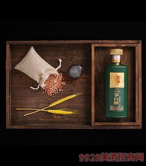 茅台醇邮票文化酒(子鼠开天)单支绿-柔和酱香型【53度-500ml】