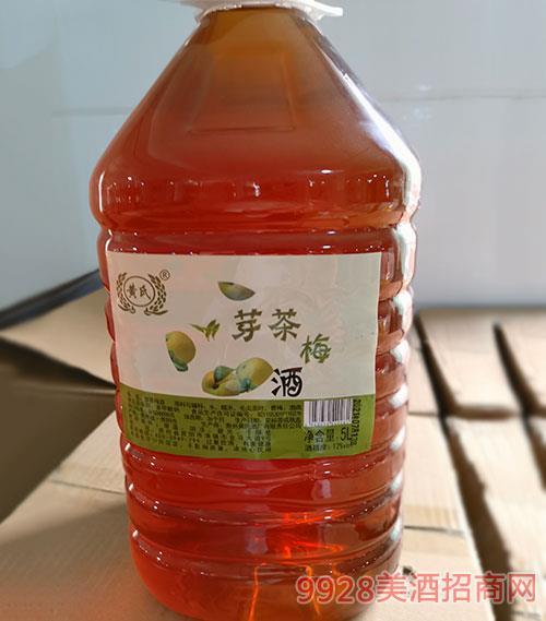 �S氏芽茶梅酒5L