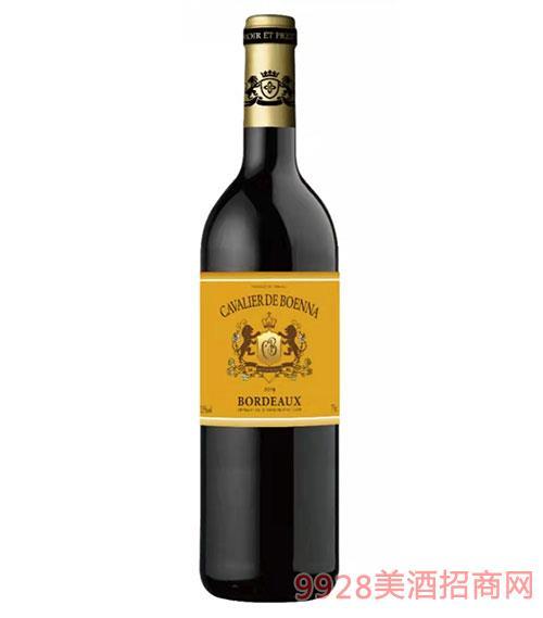 寶納騎士酒莊干紅葡萄酒750ml