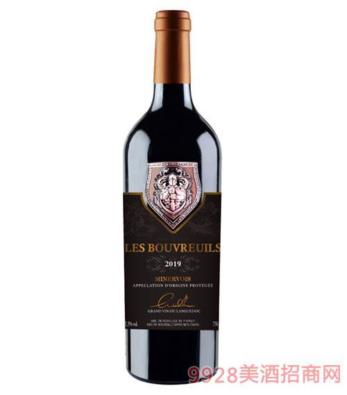 布瑞斯男爵干紅葡萄酒15.5度750ml
