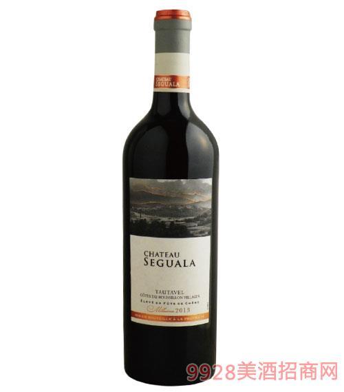 蘇格拉城堡干紅葡萄酒750ml