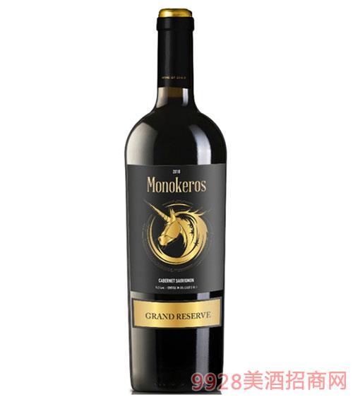 麥卡洛特選珍藏干紅葡萄酒750ml