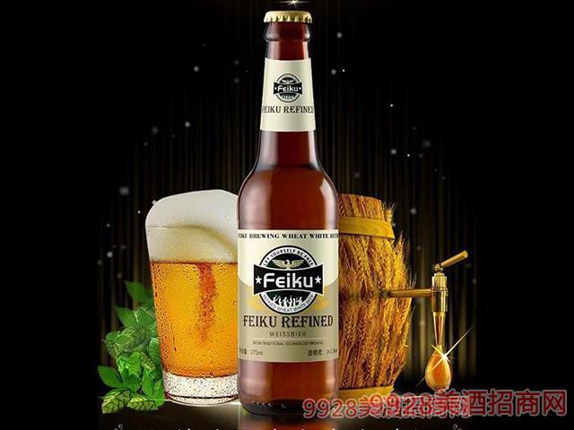 非酷精�比利�r�L味精�白啤酒-9度330ml