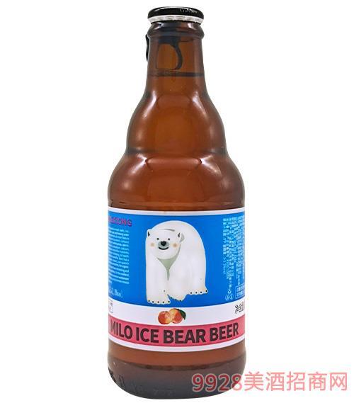 咪樂冰熊·純麥白桃精釀9°P300ml