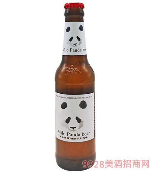 咪樂熊貓·精釀小麥白啤10°P275ml