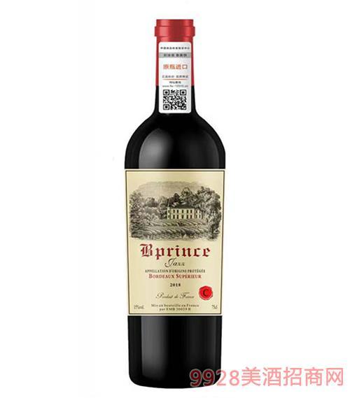 柏翠王子·爵士超级波尔多干红葡萄酒15度
